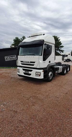 Caminhão Iveco Strallis 440 6x2 Automático 2013