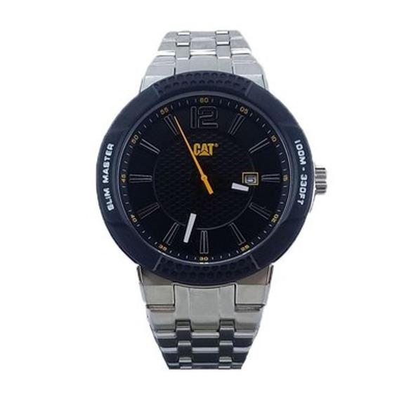 Reloj Análogo Marca Caterpillar Modelo: Sh14111131 Color Pla