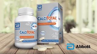 Calcitotal 60 Cápsulas - Cálcio, Vitamina D E K2