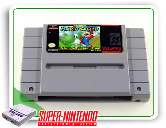 Super Mario World Return To Dinosaur Land - Video Games no