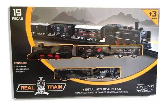 Ferrorama Real Train - Zoop Toys