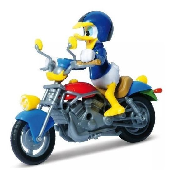 Vehiculos Disney Moto Con Donald Mundo