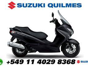 Scooter Suzuki Burgman 200 En Stock Nuevo 2018 0km