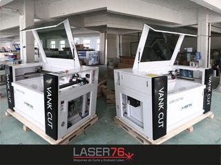 Maquina Laser Vank Co2 - 90x60cm 120w - Corte Y Grabado
