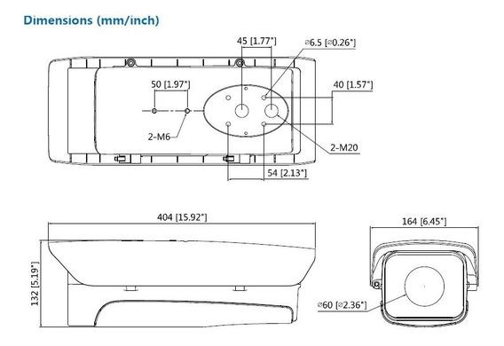 Caixa Protetora De Cameras Dh-pfh610v Series - Dahua