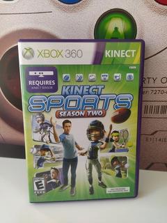 Kinect Sports 2da Temporada Xbox 360 Original Físico Usado