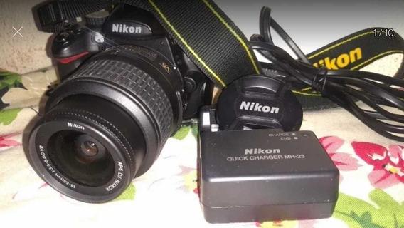 Nikon D5000 Seminova Excelente Estado De Conservação E Funci