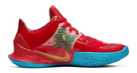 Tênis Nike Kyrie Spongebob Bob Esponja Siriguejo Pronta Entr