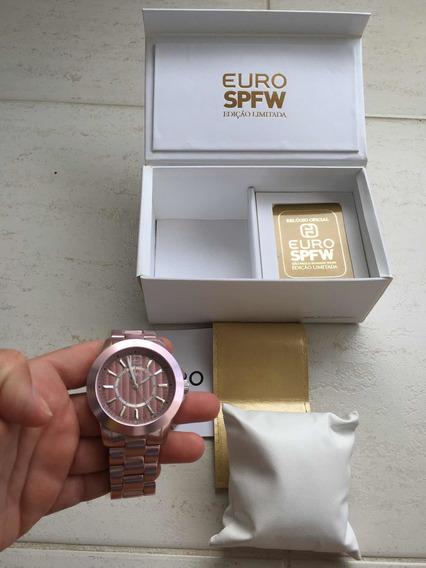 Relógio Euro Edição Limitada Spfw