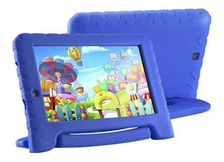 Tablet Infantil 7 16gb Quadcore Multilaser Nb302 Azul Flaber