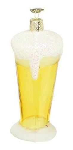 Viejo Mundo De Navidad Vidrio De Cerveza Vidrio Soplado Orna