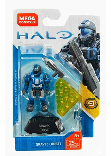 Graves Odst Halo Reach Mega Construx Serie 9