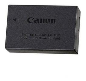 Bateria Original Caixa Lacrada Lp-e17 T6i/t7i Frete Grátis