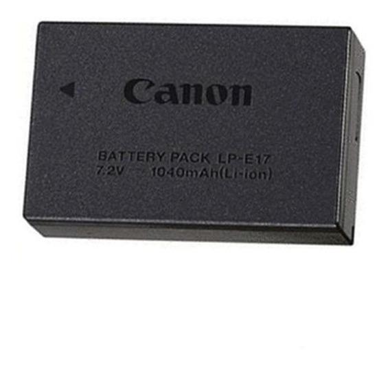 Bateria Original Caixa Lacrada Lp-e17 T6i/t7i/sl2 Pronta Entrega-envio Imediato-frete Grátis- Parcele Sem Juros