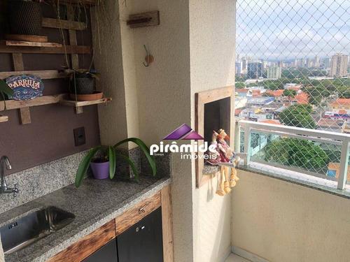 Apartamento À Venda, 94 M² Por R$ 530.000,00 - Jardim América - São José Dos Campos/sp - Ap13093