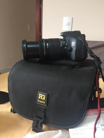Câmera Semi Profissional Usada Só Uma Vez