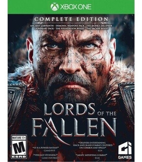 Lords Of The Fallen Xbox One Complete Edition Fisico Nuevo