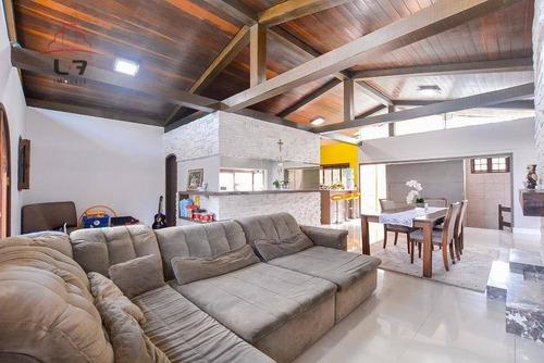 Casa Com 4 Dormitórios À Venda, 441 M² Por R$ 2.200.000 - Mercês - Curitiba/pr - Ca0108
