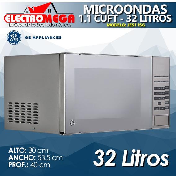 Microondas General Electric 1.1 Cuft 32 L Tipo Espejo