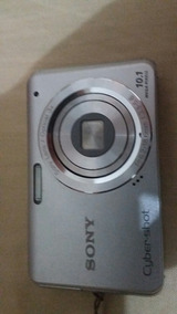 Camera Digital Sony 10.1 Mega Pixel Com Cartao Memoria