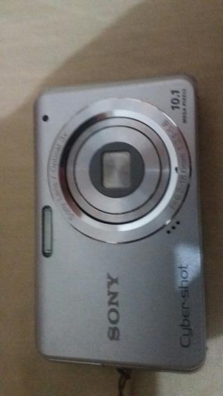 Camera Digital Sony 10.1 Mega Pixel Com Cartao Memoria