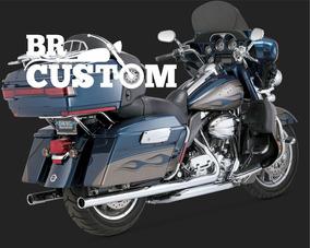 Escapamento Vance Big Shot Duals 17931 Harley Touring Hd