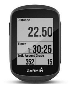 Ciclocomputador Garmin Edge 130 Preto Gps Display De 1,8 S