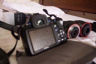 Pentax K50+18-55mm+carregador/2baterias/resiste A Intempérie