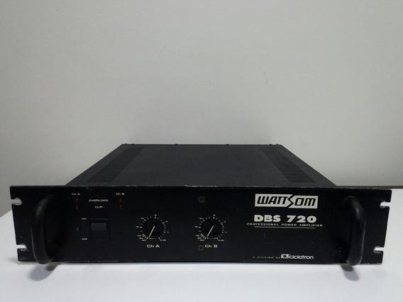 Amplificador Wattson Dbs 720 100% Não Gradiente, Polyvox.