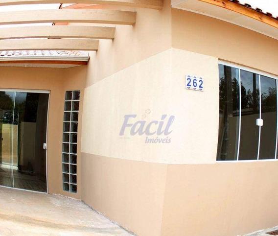 Casa Residencial À Venda, Vila Romana, Ponta Grossa. - Ca0072