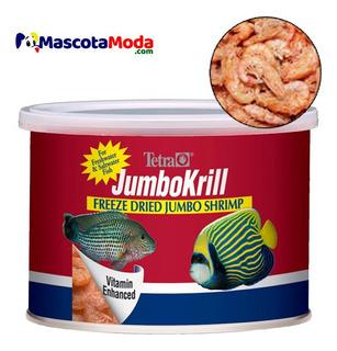 Jumbo Krill Camarones Liofilizados Alimento Premium Peces