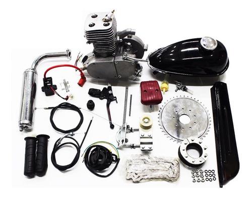 Imagem 1 de 6 de Motor De Bicicleta 100cc  Importway Mais Potente Lançamento