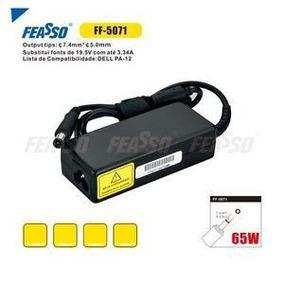 Fonte Ff-5071 P/ Notebook 65w 19.5v-3.34a Plug7,4x5 Feasso