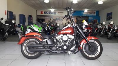 Harley-davidson Fat Boy 2013 Equipada +originais
