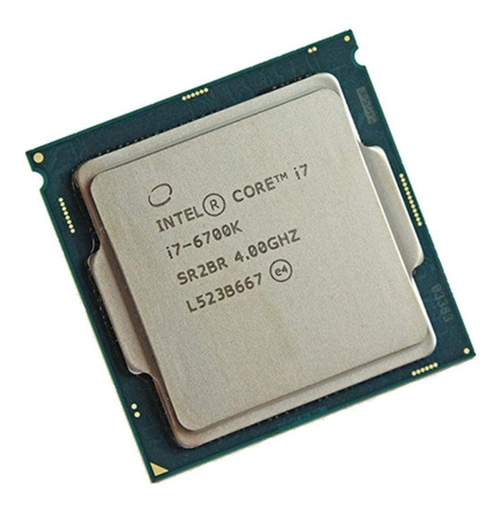 Processador Intel Core I7 6700 - Perfeito Estado + Aircooler