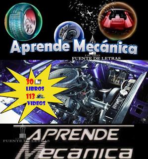 Mecanica Automotriz 24 Libros,113 Videos, + Regalo