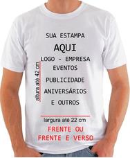 Camisetas Uniformes Para Empresas Ou Enventos