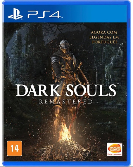 Dark Souls Remaster Ps4 Mídia Física