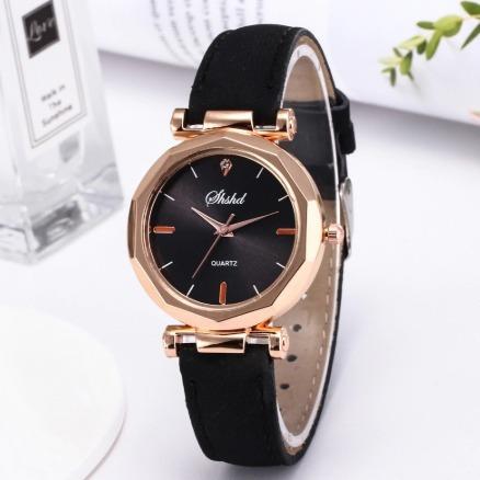 Relógio De Luxo De Cristal Quartzo