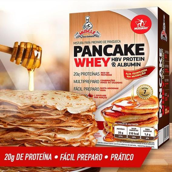 Pancake Protein 420g - Panqueca Whey Protein - Fácil Preparo