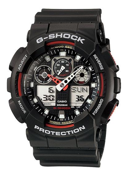 Relógio Casio Original Masculino G-shock Ga-100-1a4dr