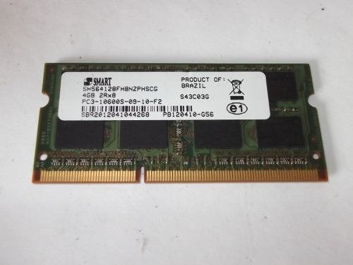 Memoria 4gb Notebook Ddr3 1333mhz Pc3-10600s
