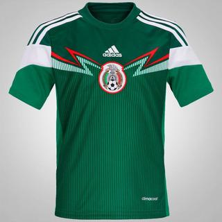 Camisa Infantil México adidas 2014 Oficial Promoção