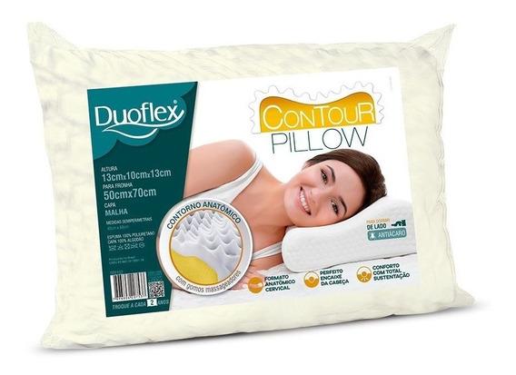 Travesseiro Contour Pillow Cervical Tp2102 Duoflex