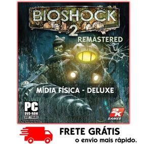 Bioshock 2 Remastered + Minervas Den Pc : Mídia Física