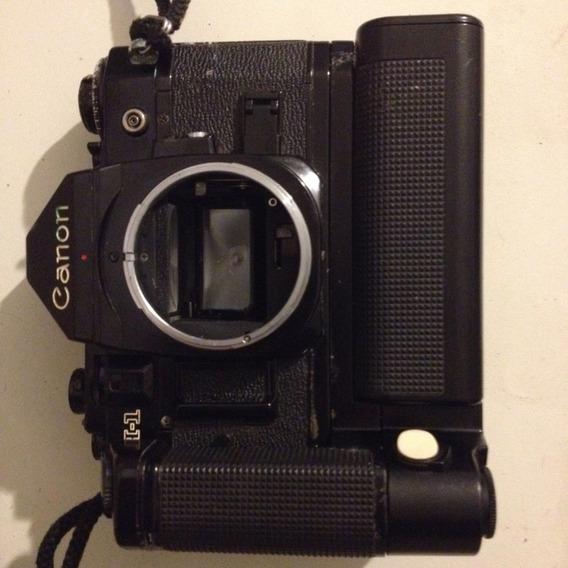 Câmera Fotográfica Analógica Canon A-1 Com Motordrive