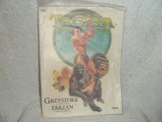 Gibi Hq Greystoke A Lenda De Tarzan O Rei Da Selva