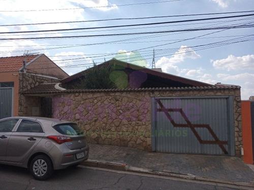Casa Residencial A Venda, Parque Brasilia, Jundiaí. - Ca09855 - 68191832