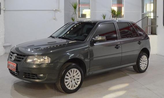 Volkswagen Gol 1.4l Gris 2013 Nafta En Excelente Estado!!
