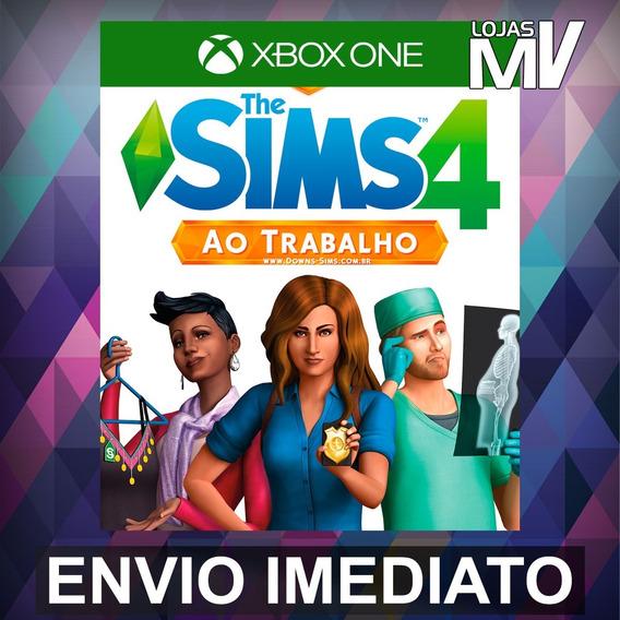 The Sims 4 Ao Trabalho - Xbox One Código 25 Dígitos